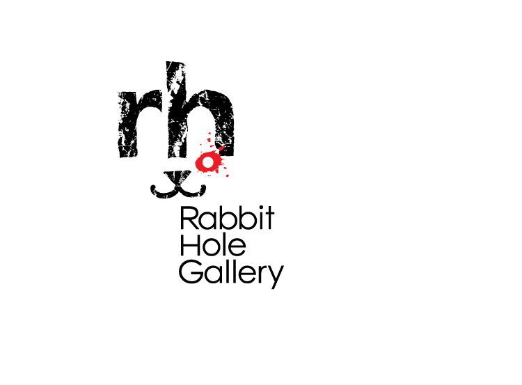 © 2009 UnParalleled, LLC. All rights reserved. Roger Sawhill, Mark Braught. Rabbit Hole Gallery Logo